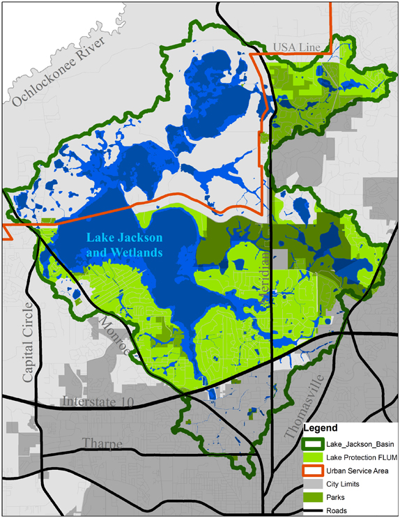 MAPS  Friends Of Lake Jackson
